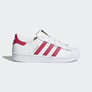 Adidas Superstar Bianco/Fucsia Art. BA8382