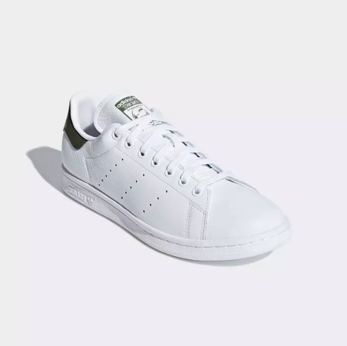 new york e0cf1 cf79e Adidas Stan Smith Scarpe Sneakers Bianco   Texture Verde Art. B41477