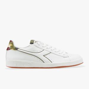 Diadora Martin Scarpe Sneakers Bianco Verde Art. 501.173704 01 C11161