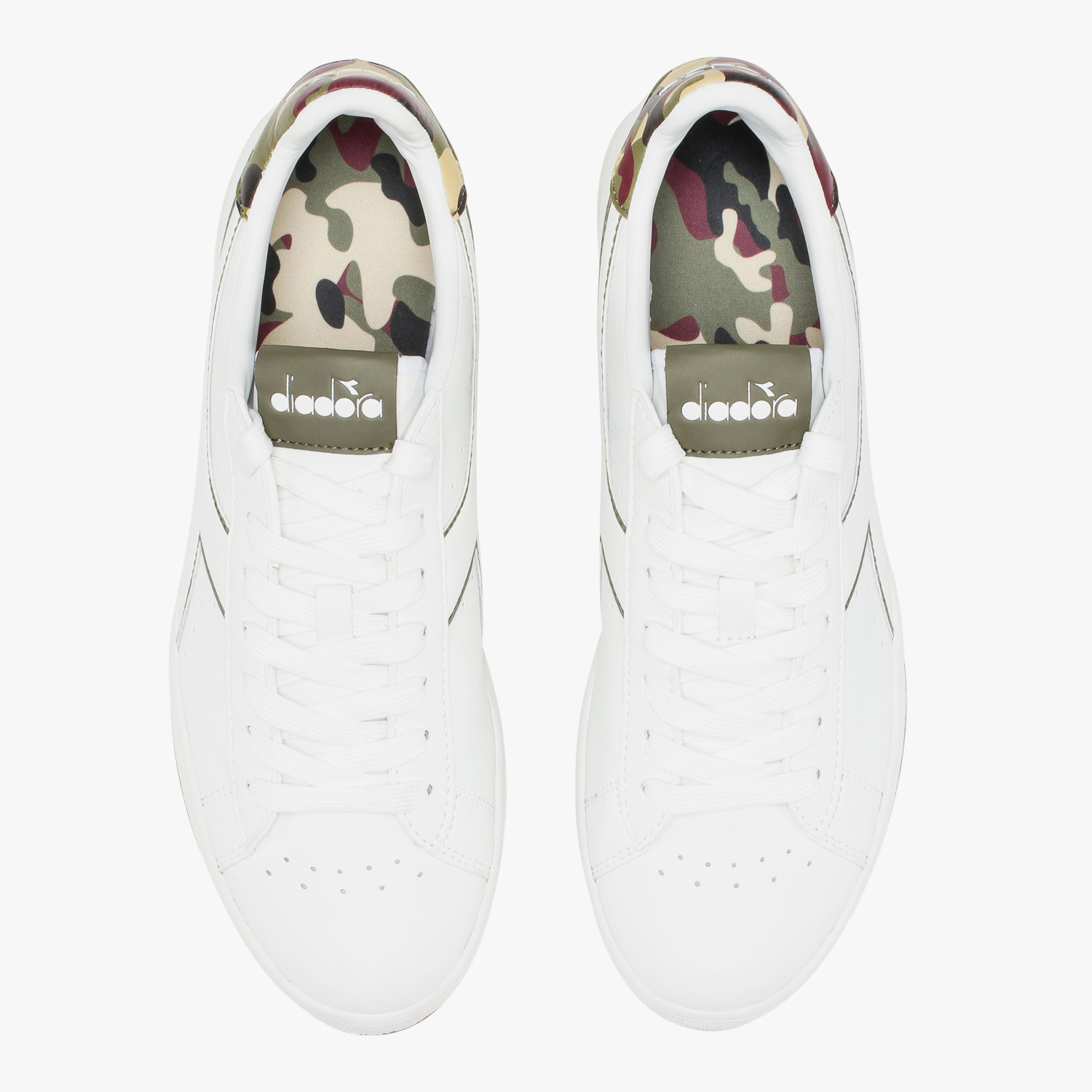 Camouflage Diadora Sneakers P Game Bianco Graphic Sportive