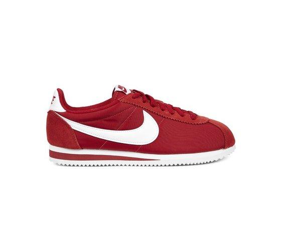 best service 7ecc8 78c26 Nike Classic Cortez Nylon Rosso  Bianco Uomo Art. 807472 611