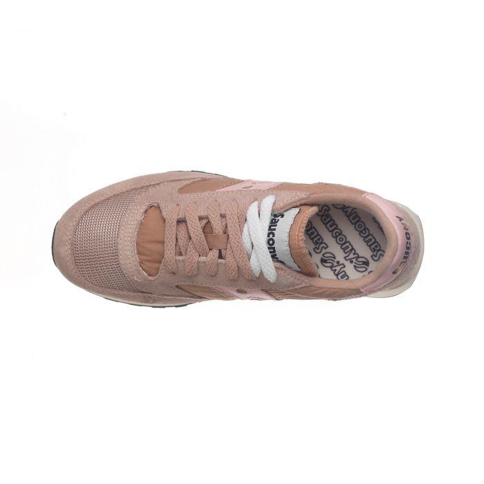 Sneakers Scarpe Saucony Jazz Vintage Donna Pesca Rosa Pink Art ... 1afe09602ce