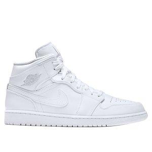 Nike Air Jordan 1 Mid Ttotal White Art. 554724 104