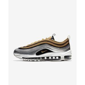 Nike Air Max 97 SE Metallic Gold / Silver Art. AQ4137 700