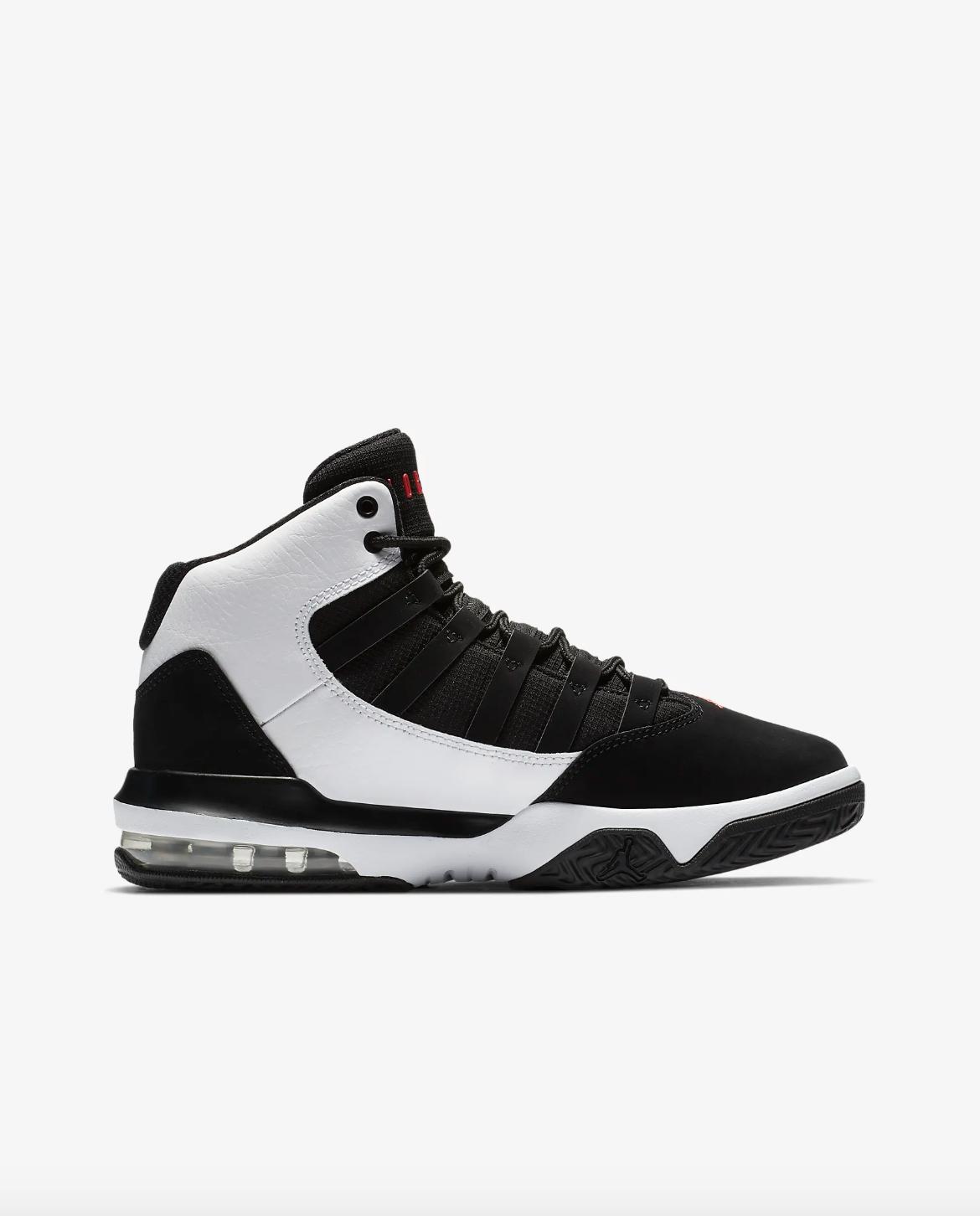 116b2058977b9 Nike Jordan Max Aura GS Scarpe Sportive Ragazzi Bianco   Nero ...