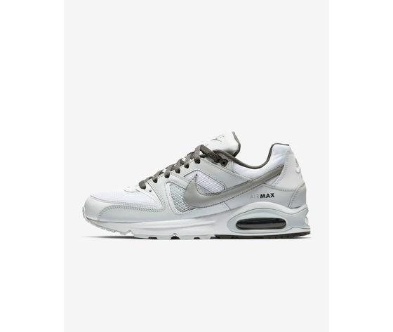Scarpe Air Max Uomo Sportive Nike Bianco Sneakers Grigio Hwhr5z Command w77Otg