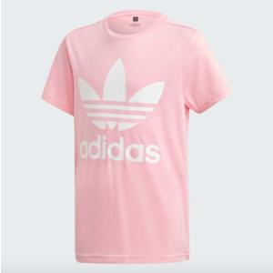 T-Shirt Adidas Rosa T-Shirt Trefoil Rosa / Bianco Art. DV2909