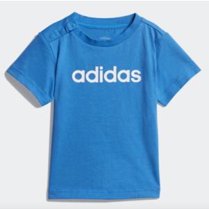 T-Shirt Adidas Blu T-Shirt Linear Art. DV1272