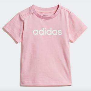 T-Shirt Adidas Rosa T-Shirt Linear Art. DV1273