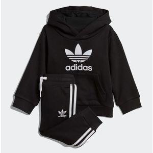 Tuta Adidas Nero Trefoil Hoodie Nero Art. DV2809