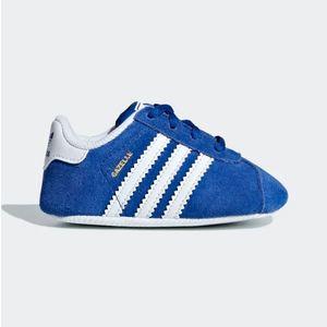 Adidas Gazelle Bambini Blu / Bianco Art. CG6541