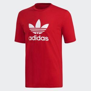 T-Shirt Adidas Maglietta Maniche Corte Rosso Art. DX3609