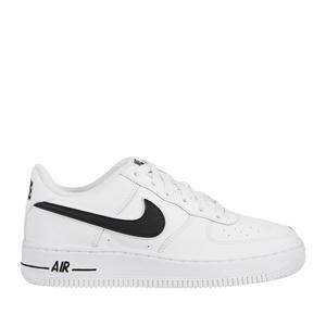 Nike Sneakers Air Force 1-3 Bianco/Nero Pelle art. AV6252 100