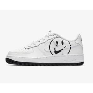 Nike Air Force 1 Bianca Smile Nero Have a Nike Day Pack art. AV0742 100