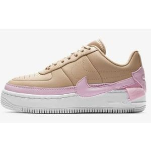 Nike Air Force 1 Jester Colore Beige/Rosa/Bianco Pelle art. AO1220 202