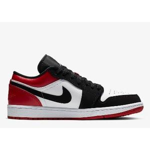 Nike Jordan One Low Ps Bambini bianco nero rosso art. BQ6066 116