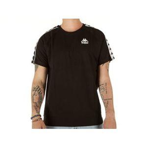 Maglietta Kappa nera uomo Emanuel t-shirt art. 305001 005