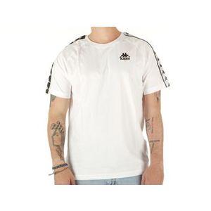 Maglietta Kappa bianca uomo Emanuel t-shirt art. 305001 001