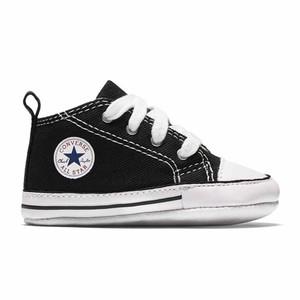 Sneakers Converse culla nero Chuck Taylor First Star bambini art. 8J231