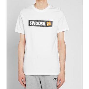 T-Shirt Nike Bianca Swoosh art. AR5027 100