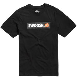 T-Shirt Nike Nera Swoosh art. AR5027 010