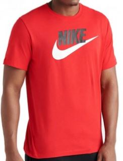 c797df378 Nike maglietta Icon Futura colore rosso logo bianco t-shirt ...