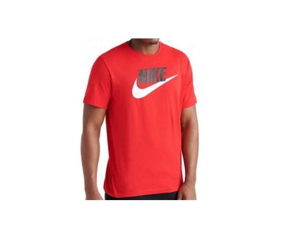 aa807bb2c Maglietta Nike Icon Futura rosso logo bianco t-shirt uomo art. AR5004 657