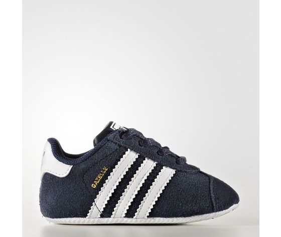 newest d0d6a de5cf Scarpe Adidas Gazelle Crib blu Art. BY2379