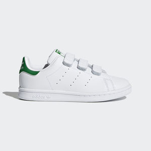 Adidas Stan Smith C CF Bianco/Verde Art. B32706