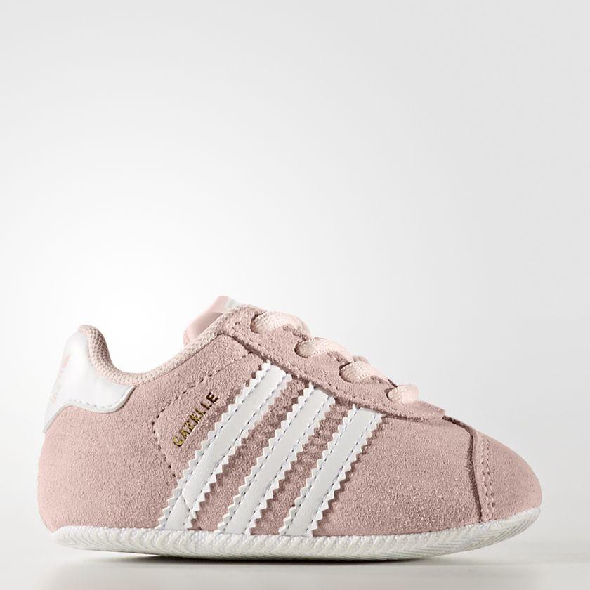 e25a17b499 Scarpe Adidas Gazelle Crib rosa Art. BY2380. By2380 01 standard ...