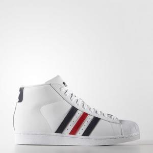 Adidas Promodel Bianco/Blu/Rosso Alte Art. AQ5216