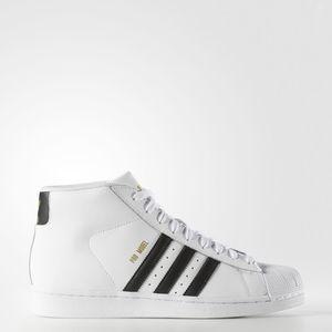 Adidas Promodel Bianco/Nero Alte Art. S85956