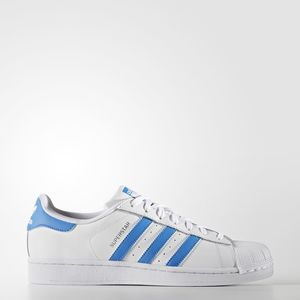 Adidas Superstar Bianco/Blu Art. S75929