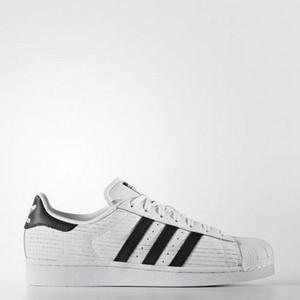 Adidas Superstar Bianco/Nero Texture Quadretti Art. AQ8333