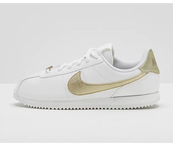 Nike Cortez Basic SL Bianco/Oro  Art. 904764 105