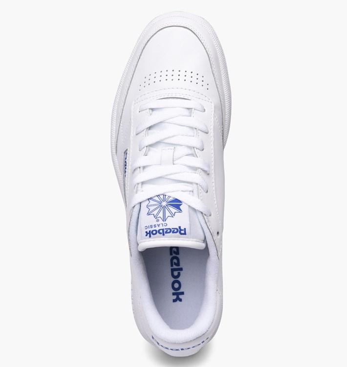 33331fceda749 Reebok Club C 85 Sneakers White Gum Sole Art.AR0459 - colbaffo