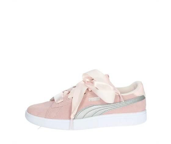 Puma Smash V2 Ribbon Rosa Pink Fiocco Donna Art. 366003 02