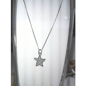 Girocollo argento con stella