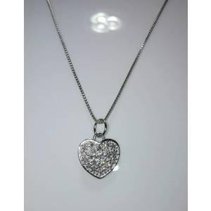 Girocollo argento con cuore