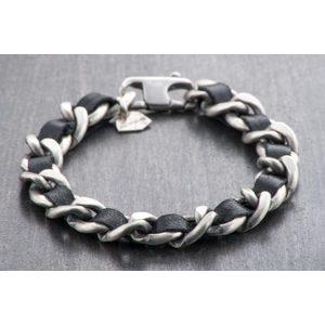 Bracciale Silver APOLLO NERO