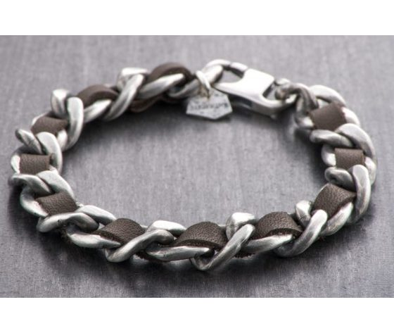 Bracciale Silver APOLLO ANTRACITE
