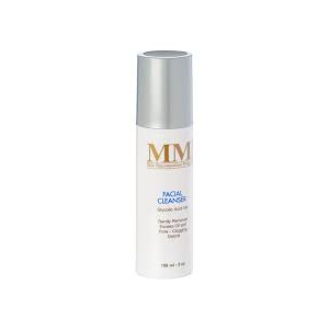mm facial cleanser detergente viso acido glicolico 4%
