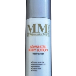 mm advanced body lotion