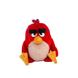 Angry birds peluche riscaldabile red