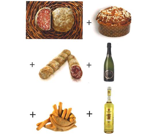cofanetto luxury food