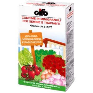 CIFO Concime in microgranuli per semine e trapianti Granverde START 1,5kg.