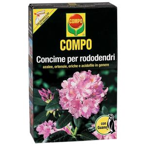 COMPO Concime guanoper Rododendri,azalee, ortensie, eriche e acidofile in genere 1KG