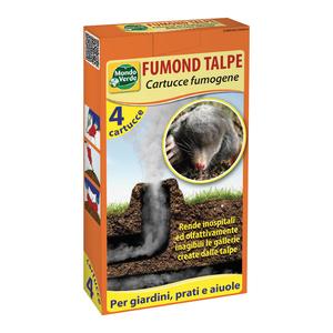 MONDO VERDE FUMOND TALPE ASTUCCIO 4 FUMOGENI