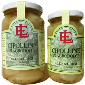 Cipolline in Agrodolce Vaso da 140g