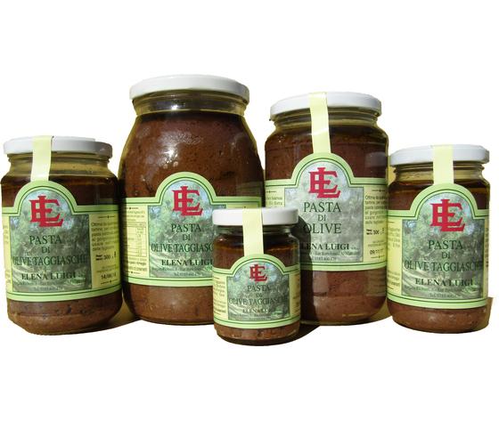 Pasta di Olive Taggiasche Vaso da 300g